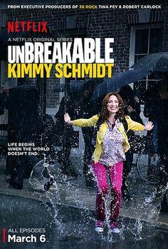 Roteiro de unBreakable Kimmy Schmidt do Netflix. Piloto (e série) sensacional