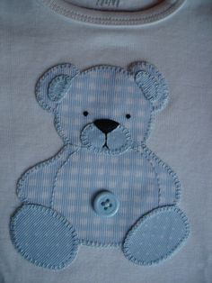 Sewing Embroidery Designs At Home Is Real Fun. Baby Applique, Baby Embroidery, Machine Embroidery Applique, Applique Quilts, Embroidery Stitches, Baby Quilt Patterns, Applique Patterns, Applique Designs, Embroidery Designs