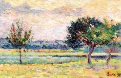 The Athenaeum - Orchard (Maximilien Luce - )