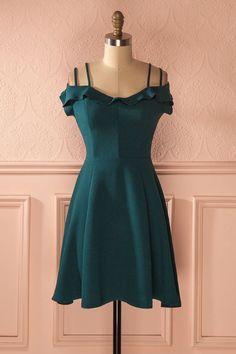 Cheap homecoming dresses 2018,Dark Green Prom Dresses,Spaghetti Prom Dress,Fashion Homecoming Dress,Sexy Party Dress,Custom Made Evening Dress