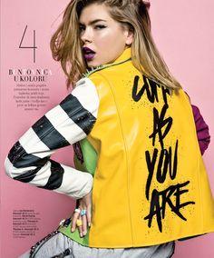 Harper's BAZAAR Serbia March 2016 Fashion editorial Fashion editor and stylist: Ana Stefanovic, Photo: Milos Nadazdin Model: Valerija Sestic