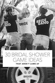 Bridal Shower Game Ideas