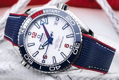 *Blog Update - Read iN!* #Omega 43.5mm Seamaster Planet Ocean 36th America's Cup Ref#: 215.32.43.21.04.001 * LTD ED of 2,021 Timepieces!