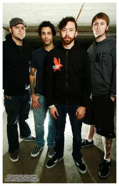 In all honesty I feel like people don't give Rise Against enough credit, and I think they're absolutely amazing.