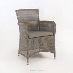 Gilbert Wicker Dining Arm Chair