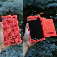 I wanted you change up my phone case, so I came up with a perler bead pokédex phone case that is per