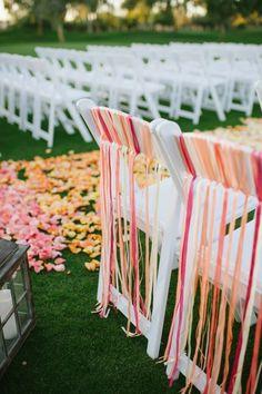 Wedding Ceremony | Budget Friendly DIY Scottsdale Country Club Wedding.