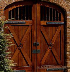 Shed or Barn Door ~ Queen Street, Charleston, South Carolina, USA