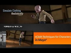 REALISTICALLY SIMULATE CLOTHING with nCloth techniques for Characters in Maya - YouTube