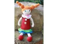 Amigurumi,gehäkelte Puppe.Häkeln.Handarbeit.handmade