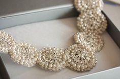 Bridal jewelry - necklace Pearls | MillieIcaro