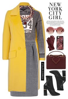 NYFW by bmaroso on Polyvore featuring polyvore fashion style New Look ESCADA MaxMara 3.1 Phillip Lim Chanel Shourouk Chrome Hearts Gucci Mark & Graham clothing StreetStyle NYFW sportychic