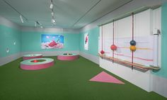 Pastello Draw Act, An Immersive Kids Space Filled With Whimsical Custom Crayons and Drawing Surfaces Design Crafts, Design Art, Interior Design, Display Design, Imagination Drawing, Art Activities For Kids, Indoor Playground, Playground Design, Wayfinding Signage