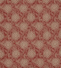 Home Decor Print Fabric-French General Locker Rouge at Joann.com