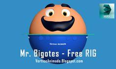 Tutorial - Funcionamiento del Rig de Mr Bigotes - 3Ds max
