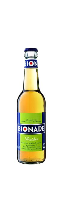Bionade // A drink known for it's all natural ingredients: malt, water, sugar, & fruit essences