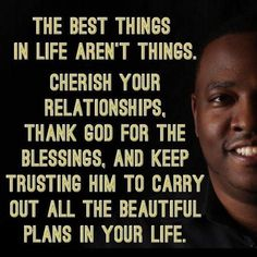 The best things in life aren't things!!
