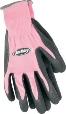 """Awesome! These gloves fit great! yay!""-Review of the Berkley® Pink Fish Gloves"