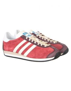 half off 92fe1 afadf Adidas Originals Country OG Shoes - Rust Red Adidas Country, Adidas  Originals, Rust,