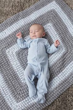 All-Around Blanket By Patons - Free Crochet Pattern - (ravelry)
