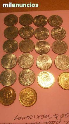 . Vendo una colecci�n de 10 monedas de una serie 1974 a 1983 completa en muy buenas condiciones.    anverso: aparece el escudo de armas de mexico, alrededor la leyenda (estados unidos mexicanos).    reverso: apareceel busto de francisco i madero, iniciado