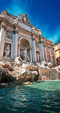 My parents love Italy. I, JRJ was born in Rome in Rome Travel, Italy Travel, Places To Travel, Places To Go, Rome Photography, Voyage Rome, Rome City, Trevi Fountain, Travel Memories