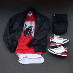 Trendy Mens Fashion, Tomboy Fashion, Streetwear Fashion, Sneakers Fashion, Swag Outfits Men, Nike Outfits, Fall Outfits, Sneaker Outfits, Hype Clothing