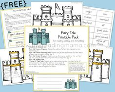 FREE Fairy Tale Printable Pack | This Reading Mama