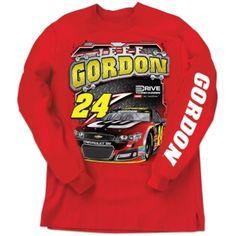 Jeff Gordon Long Sleeve Tee $10 Off! | Raceline Direct