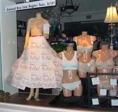 Annual Bra Sale 2011