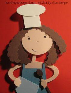 Baker girl punch art