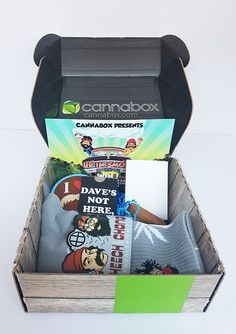 The Cannabox features awesome 420 gear and other essentials sent right to your door monthly. This subscription box has a new theme every month that includes t-shirts, smoking accessories, socks, cases, grinders, papers and more. This