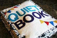The How-To Gal: Finished Quiet Book!  Oh my word...I have got make one of these for my little sweet Nora