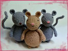 Video Amigurumi Mouse Tutorial, freebie: just  a great share, yay: thanks so xox
