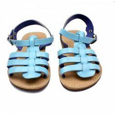 Theluto Gladiator Turquoise // PoppysCloset.com #kids