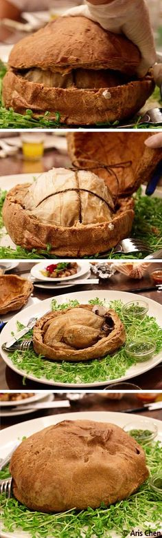 Chicken Bread - Creative Cuisine