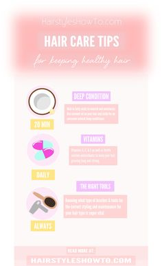 Simple tips for keeping healthy beautiful hair Grow Long Hair, Grow Hair, Healthy Hair Tips, Deep Conditioner, Keeping Healthy, Natural Beauty Tips, Hair Care Tips, Hair Health, Your Hair