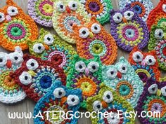 Crochet pattern OWL by ATERGcrochet by ATERGcrochet on Etsy