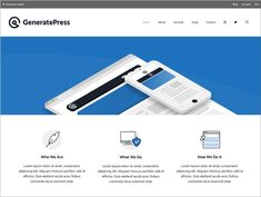 GeneratePress is multi functional and fast speed loading WordPress theme. See the whole GeneratePress theme review from our personal experiences to seek out out if the GeneratePress theme is the proper selection for you. Sticky Navigation, Cool Themes, Themes Free, Building A Website, Premium Wordpress Themes, Search Engine Optimization, Affiliate Marketing, Header, User Experience