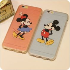 For iphone 6 plus 6 5s 5 Case Brushed Silicon Phone Cases Full Protection Mickey Minnie Mouse Couple For Lovers Free Shipping,High Quality couple case ,China phone case Suppliers, Cheap phone case from Jelly Beans' case shop on Aliexpress.com
