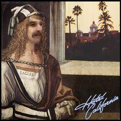 Hommage à Glenn Frey des Eagles #HotelCalifornia #hommageàGlennFrey