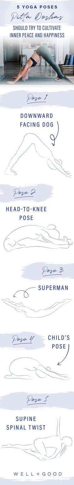 Yoga Poses for Pitta Doshas