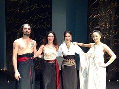 Shahrokh Moshkin Ghalam with Bita Milanian & Gord Afarid &  Karine Gonzalez