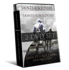 This DVD combo pack includes Saints and Soldiers (Special Edited Version) and Saints and Soldiers: Airborne Creed  Saints and Soldiers is a dramatic, intense and heroic WWII film about members of the Greatest Generation struggling to be both good men and good soldiers.