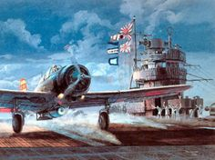 TOM FREEMAN - Nakajima attack bomber taking off from aircraft carrier Akagi, 7 December 1941 Ww2 Aircraft, Aircraft Carrier, Military Aircraft, Aviation Theme, Aviation Art, In The Air Tonight, Imperial Japanese Navy, Pearl Harbor Attack, Airplane Art