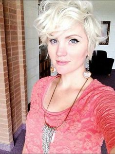 Realy loong pixie cut.  Cutie ha?