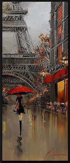 Kal Gajoum. А в городе сегодня еще осень, дождь и зонты, зонты, зонты.... Обсуждение на LiveInternet - Российский Сервис Онлайн-Дневников