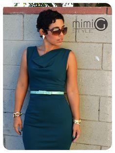 DIY Dress: PR V8787 + How I Rocked It! |Fashion, Lifestyle, and DIY