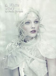 A white story by Paolo Roversi