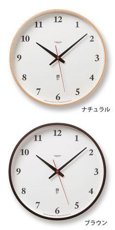 掛け時計/レムノス/電波時計/壁掛け時計/電波/かわいい。【ポイント10倍】掛け時計 電波時計 時計 壁掛け Lemnos レムノス  Plywood clock プライウッドクロック LC05-01W 電波 壁掛け時計 掛時計 レムノス掛け時計 アナログ掛け時計 電波掛け時計 楽天 305252